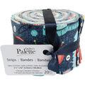 Quilter\u0027s Palette Jellies 2.5\u0027\u0027X42\u0027\u0027 20/Pkg-Sewing Notions