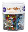 Wilton 2.4 oz. Sprinkles Set-Assorted Animals & Stars