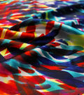 Silky Print Fabric -Brushstrokes Recolor