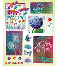 Penny Black Sticker Sheet 7\u0022X9\u0022-Dreamscape