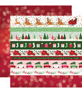 Merry & Bright Double-Sided Cardstock 12\u0022X12\u0022-Border Strips