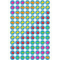 Fun Fish superSpots Stickers 800 Per Pack, 12 Packs