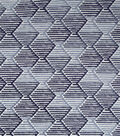 Robert Allen Upholstery Fabric 56\u0022-Ombre Step Black Twighlight