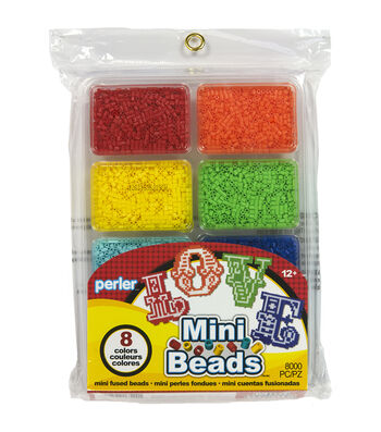 Perler Mini Beads Tray Rainbow
