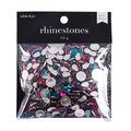 hildie & jo Flatback Iridescent Jewel Tone Rhinestones