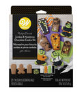 Wilton Ready to Decorate Zombies & Headstones Chocolate Cookie Kit