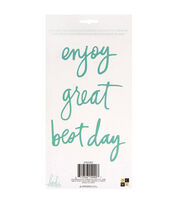 Die Cuts with a View Heidi Swapp 4 pk Word Phrases-Best Day, , hi-res