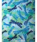 No Sew Fleece Throw 72\u0027\u0027-Sketch Dragonflies