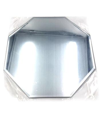 "Darice 10"" Beveled Octagon Mirror"