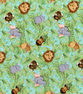 Nursery Cotton Fabric -Jungle Babies