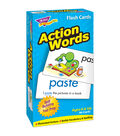 TREND enterprises, Inc. Action Words Skill Drill Flash Cards, 2 Sets