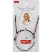 "Deborah Norville Fixed Circular Needles 32""-Size 6/4mm, , hi-res"