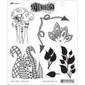 Dyan Reaveley\u0027s Dylusions Cling Stamp Collection-Doodle Parts