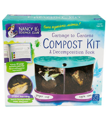 Nancy B's Science Club Garbage to Gardens Compost Kit