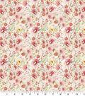 Premium Quilt Cotton Fabric-Wildflower Floral Mini