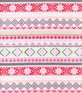 Nursery Flannel Fabric -Little Lamb Stripe