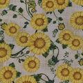 Wide Cotton Fabric-Sunflower Harvest