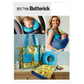 Butterick Crafts Totes & Bags-B5798