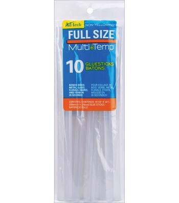 "Adhevise Technologies Multi Temp Glue Sticks-10""X.44"" 10Pk"