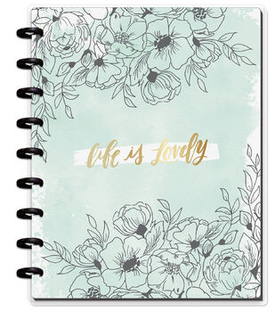 The Happy Planner Happy Notes Classic Notebook-Life Is Lovely