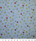 Premium Cotton Fabric-Lucy Flowers & Leaves