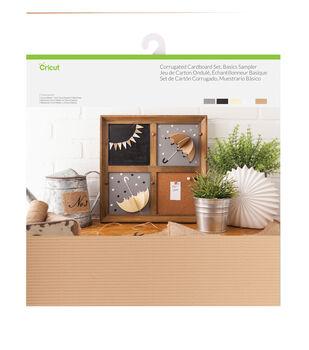 Cricut 20 pk 12''x12'' Corrugated Cardboards-Basics