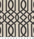 Waverly Multi-Purpose Decor Fabric 54\u0027\u0027-Onyx Cutout Embroidery