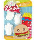 Spark Junk Food Plaster Magnet Kit