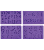 Wilton Fondant And Gum Paste Mold Letters & Numbers, , hi-res