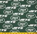 New York Jets Cotton Fabric 58\u0027\u0027-Green