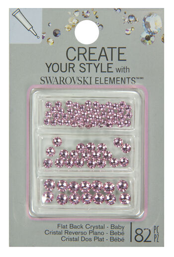 EK Success Create Your Style Swarovski Flatback Combo Mix Baby Girl