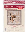 RIOLIS Create it Yourself 7.75\u0027\u0027x7.75\u0027\u0027 Counted Cross Stitch Kit-Rocky