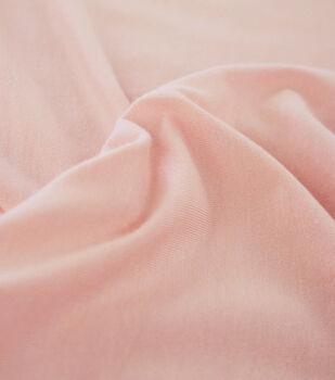 Rayon & Spandex Knit Fabric-Peach Skin Solids