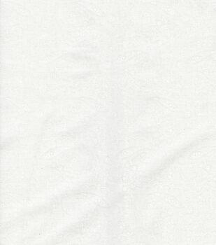 Keepsake Calico Cotton Fabric -White Paisley