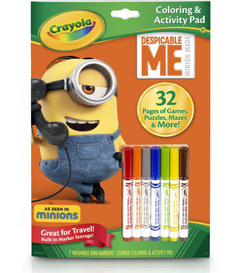 Crayola Coloring Activity Pad