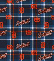 Detroit Tigers Flannel Fabric-Plaid, , hi-res