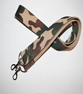 Purse Strap with Grommets 38''-Camouflage