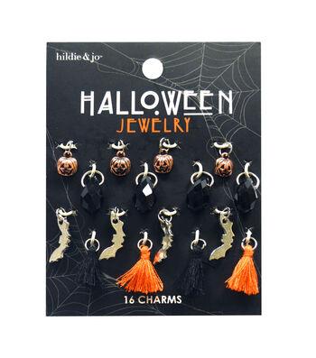 hildie & jo Halloween Charm Mix-Dangle Tassels