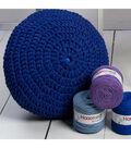 Hoooked Knit & Crochet Pouf Kit with Zpagetti Yarn-Vineyard Green