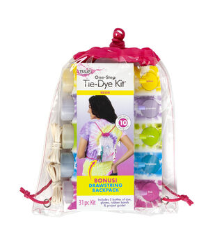 Tulip One-step Tie Dye Kit with Backpack-Neon