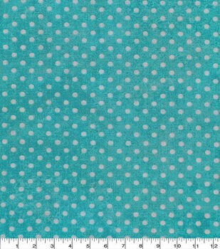 Keepsake Calico Cotton Fabric -Dot Texture Turquoise
