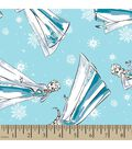 Disney Frozen Print Fabric-Sketched Elsa