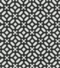 Waverly Outdoor Fabric 54\u0022-In the Frame Ebony