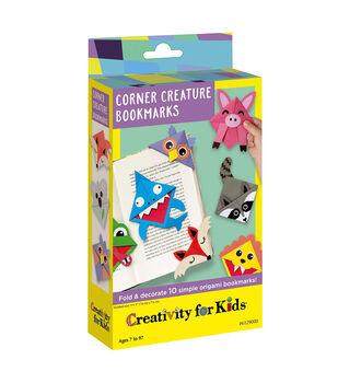 Creativity for Kids Corner Origami Creature Bookmarks