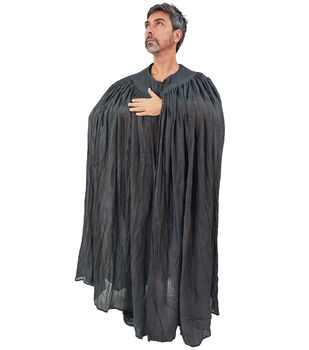 Maker's Halloween Adult Cape-Dark Gray