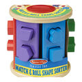 Match And Roll Shape Sorter-