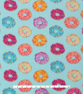 Blizzard Fleece Fabric -Sprinkled Donuts