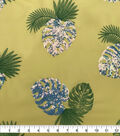 Sew Sweet Dahlia Polyester Fabric-Summer Palm Leaf