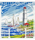 Imaginating Counted Cross Stitch Kit10.5\u0022X10\u0022-Porch Scene