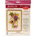 RIOLIS 8.25\u0027\u0027x11.75\u0027\u0027 Counted Cross Stitch Kit-Grapevine